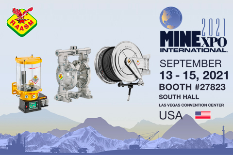 RAASM USA IS AT THE MINEXPO 2021