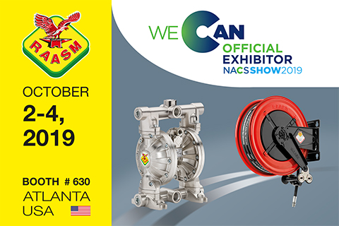 RAASM USA IS AT THE NACS SHOW 2019