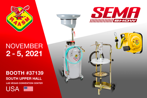 RAASM USA IS AT THE SEMA SHOW 2021