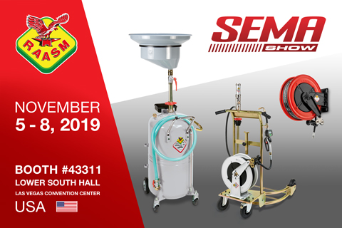 RAASM USA IS AT THE SEMA SHOW 2019